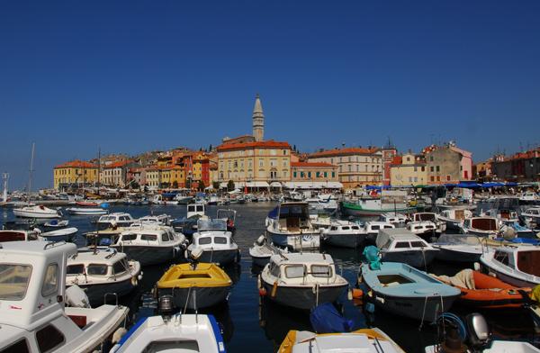 Rovigno, nella penisola d'Istria